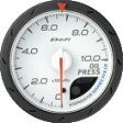 Defi デフィ アドバンス 油圧計(シロ) ADVANCE CR60MM DF08901