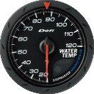 先进的Defi Defi水温表(黑)提前CR60MM DF09202[Defi デフィ アドバンス 水温計(クロ) ADVANCE CR60MM DF09202]