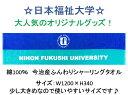 日本福祉大学オリジナルスポーツタオル!