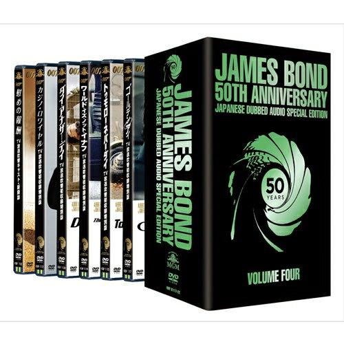 007 TV放送吹替初収録特別版DVD-BOX【第四期】全6枚セット