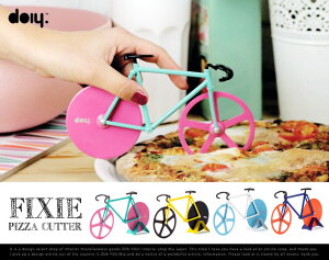 FixiePizzaCutter/フィクシーピザカッターdoiy/ドゥーアイワイピストバイクピストピザカッター自転車フィックスバイクバイクDETAIL