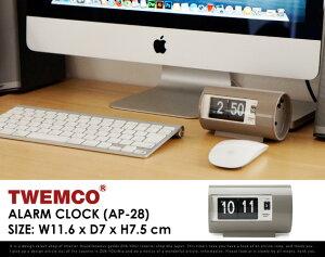 """TwemcoAlarmClock#AP-28""""Gray""""/�ȥ������顼�९��å����졼""""�ѥ��ѥ������֤����ץ���å�����DETAIL�ڤ������б�_�쳤��"""
