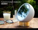 SANDSTONE MIRROR / ����ɥ��ȡ��� �ߥ顼amabro ���ޥ֥� W15.3cm��H16.7cm��D12cm �� �ߥ顼 ��� ��� �֥饹 �� �ߥ顼 ���ߥ顼 ���