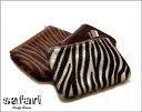 Zebra POUCH / ゼブラ ポーチGoody Grams SAFARI グッティーグラムス サファリ ハラコ 小物入れ ポーチ