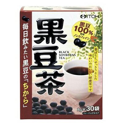 井藤漢方製薬黒豆茶ティーバッグタイプ8g×30袋健康食品