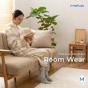 着る毛布 mofua モフア プレミアム マイクロファイバー 着る毛布 フード付 ルームウェア Mサイズ 着丈約110cm