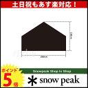 スノーピーク ペンタイーズ グランドシート【 SAスノー ピーク shop in shop】オートキャンプ テント タープ [ SNOW PEAK SDI-00...