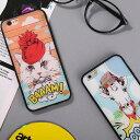 iPhone6 iPhone6S ケース おもしろ シリコン キャラクター ケース TPU セミハードケース おしゃれ 面白 かわいい 動物 イラスト iPhoneケース カバー ユニークデザイン アメカジ プリントケース アニマル アメリカンポップ メルヘン 猫 キャット フクロウ 馬 犬 カエル 猿
