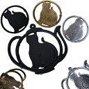 MBB367【ネコアイアントリベット】鉄のネコ鍋敷きキャットアイアントリベット猫ねこ好きにチョ〜おすすめ(*^^)vポイント消化におすすめ.