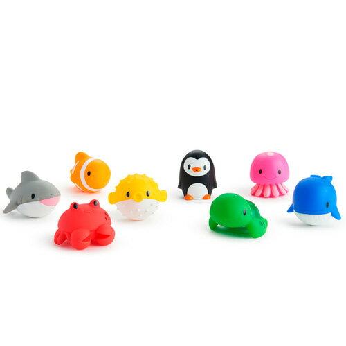 マンチキン水でっぽう8コセットオーシャンお風呂のおもちゃプール水遊び子供赤ちゃんベビー出産祝い誕生日