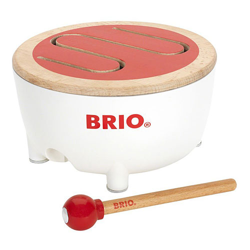 BRIOブリオドラム知育玩具楽器玩具誕生日プレゼント音楽木のおもちゃ木製赤ちゃん1歳2歳3歳出産祝い