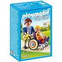 プレイモービル 小児科シリーズ 車椅子の子ども ごっこ遊び ...