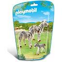 プレイモービル 動物園シリーズ シマウマの家族 ごっこ遊び ...