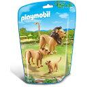 プレイモービル 動物園シリーズ ライオンの家族 ごっこ遊び ...