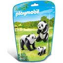 プレイモービル 動物園シリーズ パンダの家族 ごっこ遊び |...