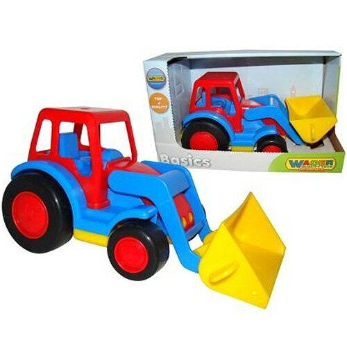 ポリシエBasicsショベルトラクター車のおもちゃ砂場おもちゃ3歳4歳5歳子供誕生日プレゼント知育男