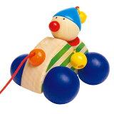 【税別5000以上】 木のおもちゃ プルトイ プルトーイ 引き車 セレクタ社 プルトーイ・レーサー 木のおもちゃ 木製 赤ちゃん 出産祝い ベビー ドイツ 誕生日プレゼント1歳 2