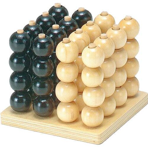 木のおもちゃ木製MOCCO立体4目並べ子供日本誕生日プレゼント誕生日男の子男女の子女4歳5歳小学生|