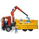 ブルーダー MB Arocs クレーン作業トラック ダンプカー(車のおもちゃ 砂場 おもちゃ 3歳 4歳 5歳 子供 誕生日プレゼント 知育 男の子 男 女の子...