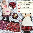 【最終処分品 小さめサイズの為ワンサイズ上をオススメ】女児プリーツスカート◇AKB48風 チェックスカート