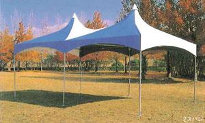 ロイヤルパワーテント1.5間×3間(2.7m×5.4m)
