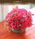 季節の花を使ったお任せアレンジメント【母の日】【送料無料】【フラワーアレンジメント ギフト】【クリスマス】【スタイリッシュ】【花 ギフト 誕生日】【花を贈る】
