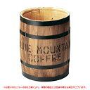 RoomClip商品情報 - コーヒー樽(たる) 茶 中(CP-3) #15053 コーヒー樽を忠実に再現した新品です。
