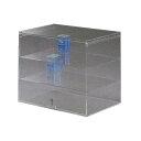 レジ用タバコケース3段(カギ付) TA-6W アクリル製品 (トーメイ)