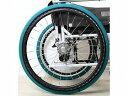 【あい・あーる・けあ】ホイルソックス(2本入) 緑 中車いす/車椅子/タイヤ/汚れ防止/カバー/室内/高齢者/お年寄り