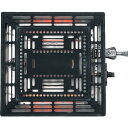 TEKNOS社製 こたつ取替えヒーターユニット510W(ファン付) TMS-500F TMS500F 取替え簡単!こたつはエコロジー暖房機ヒーター部分が壊れたコタツもヒーター取替でごみにならずエコ!ファン付取替ヒーター TMS-500-F コタツユニット コタ