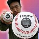 スピード測定球 速球王子  LB-990 スピードガン 不要でスピード測定可能 スピード測定は 10kmから190km 目指せ メジャーリーグ野球少年 少年野球チームに最適のプレゼントです 野球ボール