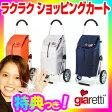 giaretti ジアレッティ ショッピングカート 折りたたみ式 キャリーカート キャスター付きカート らくらくカート 楽々ショッピングカート ラクラクショッピングカート