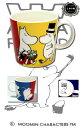 【北欧ブランドが今ブーム!】【アラビア社とムーミンのコラボ商品】【これがお気に入りのMyカップ候補特集☆】アラビア(ARABIA)ムーミン マグカップ ファミリー 5875