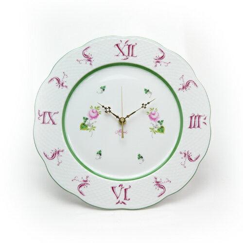 ヘレンド (HEREND) VRH ウォールクロック 壁掛け時計 28.5cm 00527【あす楽対応】