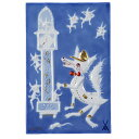 マイセン (Meissen) 陶画 青のメルヘン 930008/9P334(931735/95N92) 狼と七匹の子ヤギ達