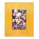 マイセン (Meissen) 陶板画 ウニカート 紫色の花(アイリス)#57/80 1980年作 証明書なし(木枠付)