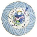 マイセン (Meissen) 月夜の山猫 円形磁板 ザビーネ・ワックス作【※購入時在庫確認必要※】