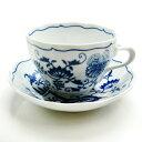 【送料無料祭】カールスバード ブルーオニオン (Carlsbad Blue Onion) コーヒーカップ&ソーサー 220ml