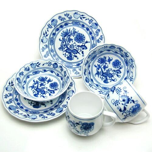 カールスバード ブルーオニオン (Carlsbad Blue Onion) モーニングカップルセット