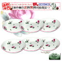 Six pieces of Richard Ginori (Richard Ginori) ferry Che Rose dish round 13cm sets