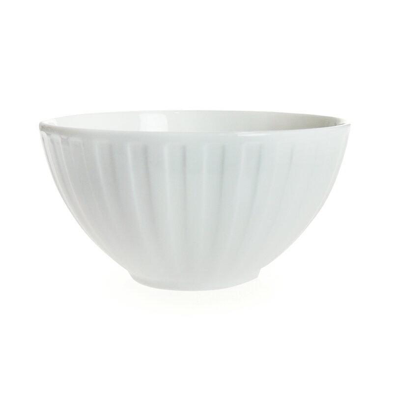【Summer*Sale】ウェッジウッド (WEDGWOOD) ナイト&デイ ボウル 15cm フルーテッド ホワイト