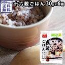 十六穀ごはん 30g×6袋 条件付送料無料 雑穀 ミネラル 食物繊維 ビタミンB類豊富