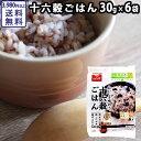 十六穀ごはん 30g×6袋   雑穀 ミネラル 食物繊維 ビタミンB類豊富