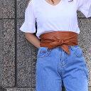 幅広 サッシュベルト レディース 太ベルト sash belt かわいい オシャレ ブーム リボン バックル フェイクレザー ウエストマーク ワイドベルト プチプラ 格安 激安 合成皮革 合皮 ブラック