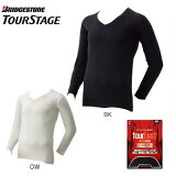 TOURSTAGE +3℃アンダーウェア5TMT1U 長袖Vネックブリヂストン ツアーステージ