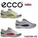 【2014年モデル】【レディース】ECCO/エコー14 BIOM HB/バイオム ハイブリッド100523 Ladiesゴルフ シューズ【送料無料】