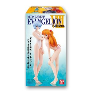 Bandai new century Evangelion PORTRAITS8 candy toy BOX