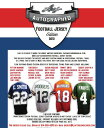 2012 LEAF AUTOGRAPHED FOOTBALL JERSEY EDITION