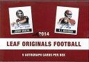 NFL 2014 LEAF ORIGINALS FOOTBALL