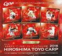 「広島東洋カープ〜2018〜」トレーディングmini色紙 BOX